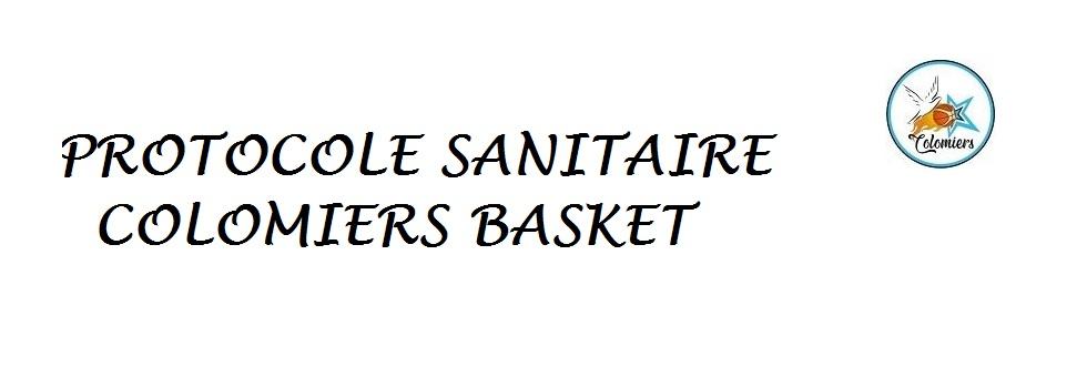 PROTOCOLE SANITAIRE (mise à jour le 8 septembre 2020)